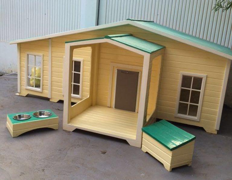 ... Fancy Dog House With AC / Light, Big / Small Dog House, Cat Hous ...