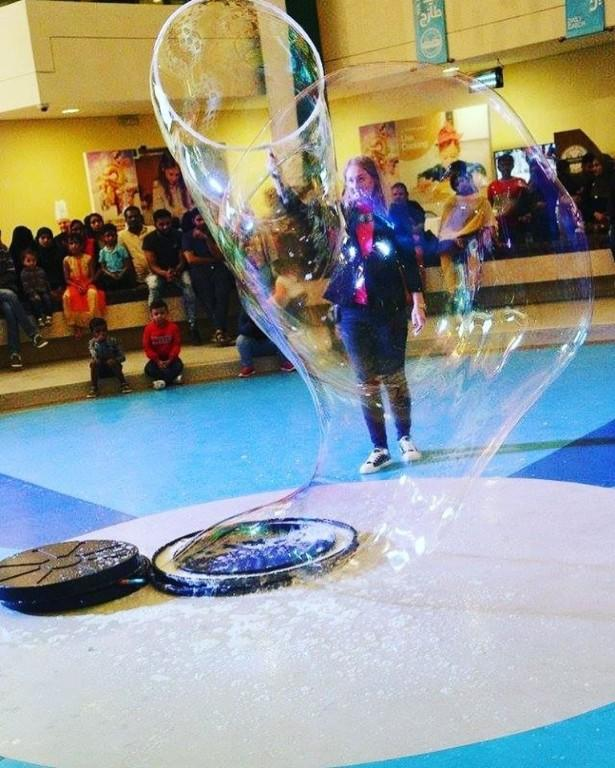 Bubble Show Entertainment Offer For Birthday Party