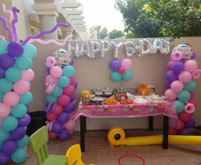 Birthday Party Balloon Decorations Other Event Services Dubai